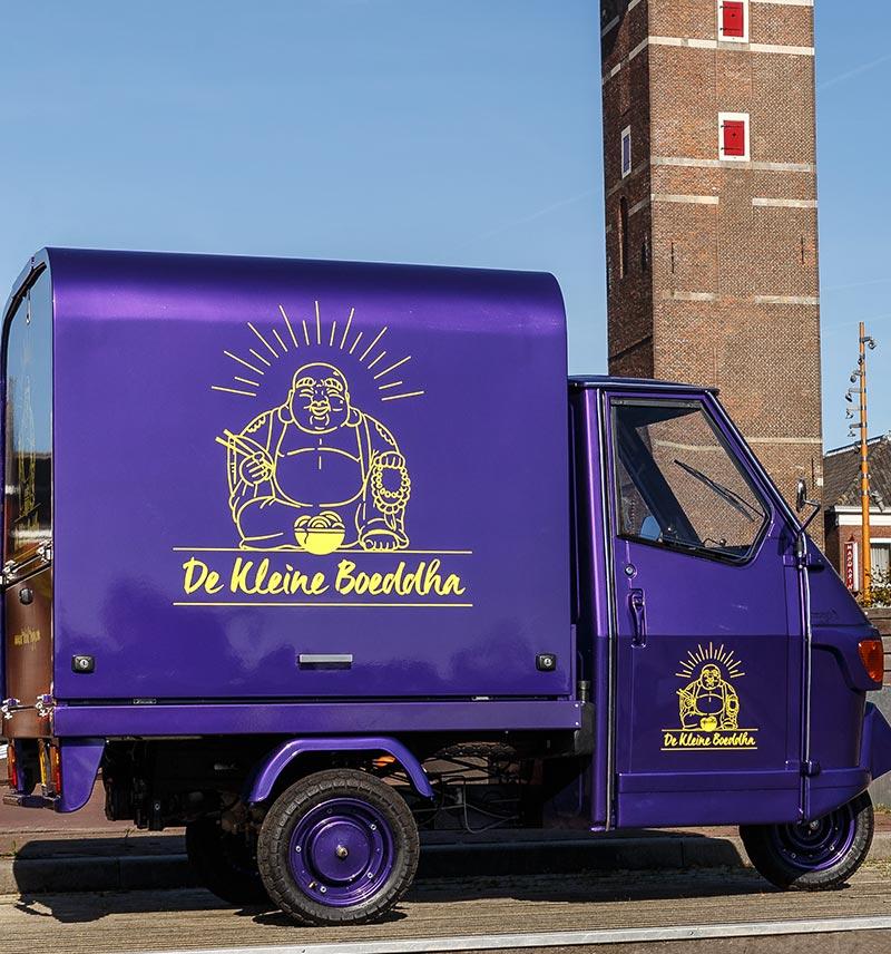 Foodtruck 'De Kleine Boedha' dicht