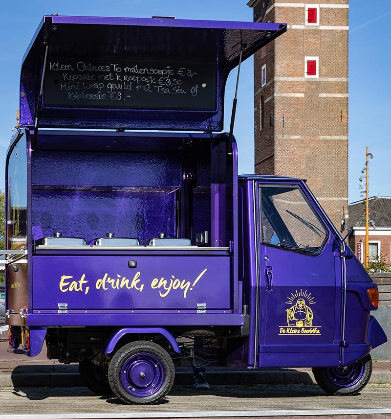 Foodtruck 'De Kleine Boedha' open